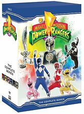 MIGHTY MORPHIN POWER RANGERS: THE COMPLETE SERIES - DVD - Region 1 Sealed