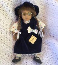 """Arias 15"""" Girl Baby Doll Brunette Braids Vintage Spain Muneras Fun Expression"""
