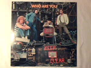 THE WHO Who are you lp USA MINT -