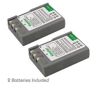 2x Kastar Battery for Nikon EN-EL9a D40 D40x D60 D3000 D5000