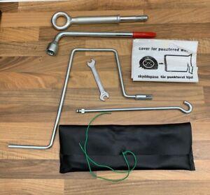 Genuine Volvo XC90 2011 Tool Kit Wheel Wrench + Jack Handle