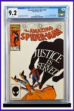 Amazing Spider-Man #278 CGC Graded 9.2 Marvel July 1986 White Pages Comic Book.