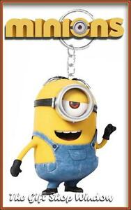 MINIONS DESPICABLE ME SCENTED STUART KEYRING NOVELTY GIFT KEY RING NEW WITH TAGS