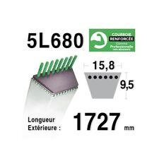COURROIE tracteur tondeuse  5L680 - 5L68 - MTD 7540364 - 7540626