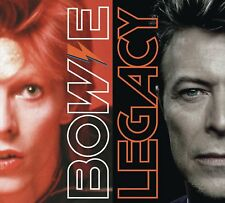 """DAVID BOWIE """" LEGACY 2 DISC CD SET """" BRAND NEW AND SEALED"""