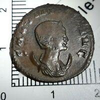 H04101 rare romaine antoninien salonine venus victrix H rome 260 262 gobl 620