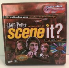HARRY POTTER SCENE IT? DELUXE EDITION The DVD Game in COLLECTORS TIN. Complete!!