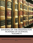 NEW Journal of the Washington Academy of Sciences, Volume 4