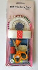 Hemline Haberdashery Pack inc sewing kit. pin wheel, fusible web