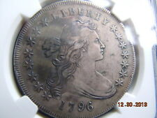 1796 DRAPED BUST DOLLAR NGC XF DETAILS, TOUGH DATE, LOW MINTAGE