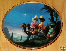 Collector Plate They Followed the Star Series Precious Moments Bible Story