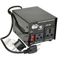 Goldsource STU 100 W Watt Step Up Down 110V 220V Voltage Converter Transformer