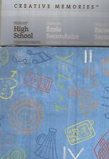CREATIVE MEMORIES PRIMARY HIGH SCHOOL DESIGNER PRINTS 12x12 Power Palette x 16