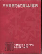 2009 French Yvert & Tellier Indian Ocean to South Pacific Stamp Catalog Volume 6