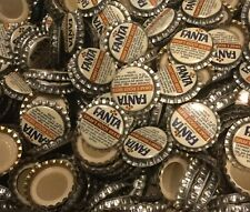 100 Fanta Root Beer plastic lined soda bottle caps unused Coca Cola Bottling Co.
