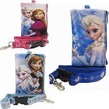 Disney Frozen Princess Anna & Elsa Lanyard ID Badge Holder Coin Purse Wallet 1pc