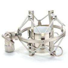 More details for professional condenser microphone shock mount holder - metal new 5.0cm