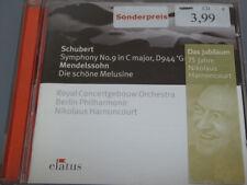 HARNONCOURT <  Schubert / Mendelssohn  > VG+ (CD)