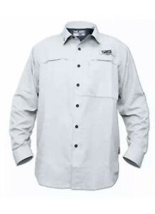 Pelagic Pro Series Offshore UPF 50 Long Sleeve Eclipse Guide Fishing Shirt small