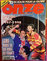 FOOTBALL ONZE MONDIAL HORS SÉRIE n° 28 SPECIAL BILAN FRANCE D1 1997-1998 PSG