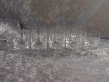 Glashütte Kristallglas 10x Weinglas Südweinglas Form ähnl. Peill Malta