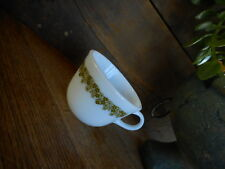 Pyrex Coffee Cup Crazy Daisy Spring Blossom White Green Flowers