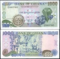 GHANA 1000 1,000 CEDIS 1995 P 29 UNC