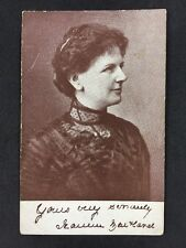Vintage Postcard - Real Photo Anonymous Women - #A8 - Printed Signature
