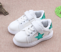 Baby Kids Girls Boys Girl Child Boy Sports Toddlers Casual Trainers Lace Shoes