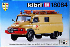 Kibri 18084 – Bausatz Malteser Ford 2500 Rettungswagen