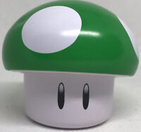 "Nintendo Super Mario Bros Green 1UP Mushroom Empty Apple Sours Candy 2"" Tin"