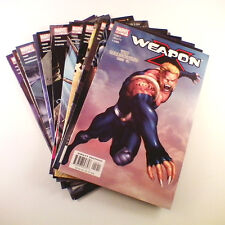 Weapon X (2002) Set of 14 (#12-13, 15, 17-27) VF+/NM- Jeanty, Chamber, Wolverine