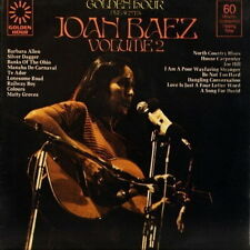 "12"" Joan Baez Golden Hour Volume 2 (Banks Of The Ohio) 70`s"