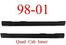98 01 Dodge Quad Cab Inner Rocker Set, Panel, Ram Truck, 4 Door, Both L&R!!