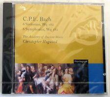C. P. E. BACH  - 6 SINFONIEN WQ182 - C. HOGWOOD - CD Sigillato