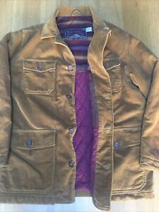 New Marlboro Classics Mens L 52in American Blanket Lined Moleskin Ranch Jacket