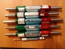 6 Vermont Gage Go No Go Pin Plug Gages Very Nice