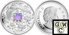 2011 'Maple of Happiness' $15 Silver Coin 1oz .9999 Fine (12853)