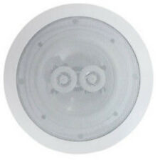 "White 6.5"" 8 Ohms 120W Dual 2-Way Quality Ceiling Roof Wall Speaker tweeters"