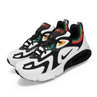 Nike Air Max 200 GS White Black Bright Crimson Green Kid Women Shoes AT5627-100