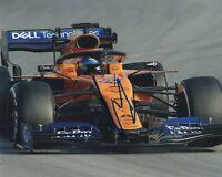 CARLO SAINZ JR SIGNED AUTOGRAPH F1  RACING MCLAREN 8X10 PHOTO  EXACT PROOF