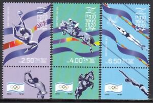 ISRAEL 2021 TOKYO OLYMPICS JEUX OLYMPIQUES OLYMPISCHE SPIELE [#2106]
