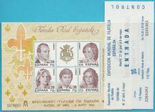 Spanien aus 1984 ** postfrisch Block 27 MiNr.2627-2631 - ESPANA 84 Königsfamilie