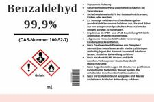 Benzaldehyd  Benzaldehyde 99,9% Bitter Mandel Aroma 50ml - 1L - 5L