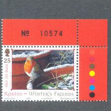 Christmas Robin mnh-Birds isle of Man - 2004