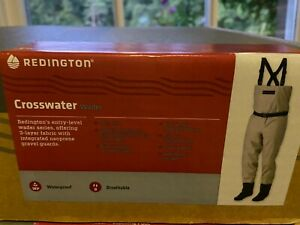 Redington Crosswater & Sonic Pro Breathable Stocking Foot Chest Waders All Sizes