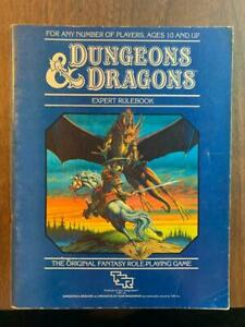 TSR Dungeons & Dragons Expert Rulebook from Set 2