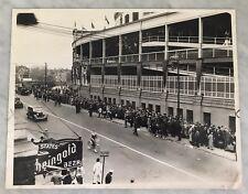 ORIGINAL TYPE 1 11X14 1938 WORLD SERIES WRIGLEY FIELD TICKET LINE YANKEES CUBS