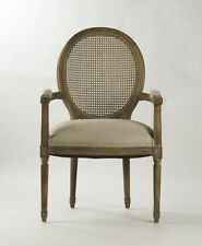 Zentique Medallion New Arm Chair B009 Cane E272 A003