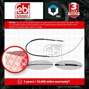 Handbrake Cable fits VW TOURAN 1T Rear Left or Right 2.0 2.0D 03 to 10 Febi New